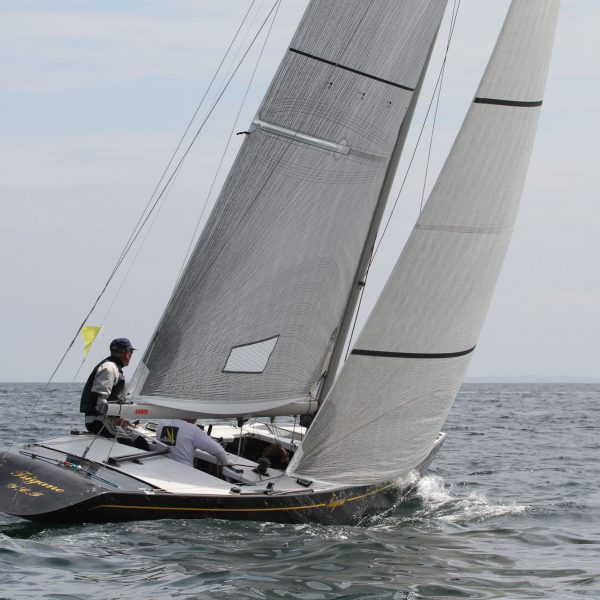 Boat underway