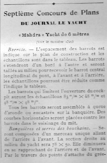 July 1907 Le Yacht
